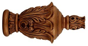 Crowder Designs Hand Carved Finial Collection   Mecca