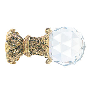 Crowder Designs Crystal Finial Collection | Crystal Large Faceted