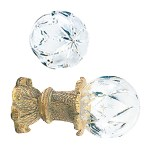 Crowder Designs Crystal Finial Collection | Large Hollow Large Star