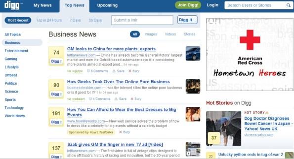 Gałęzie Crowdsourcingu - social news