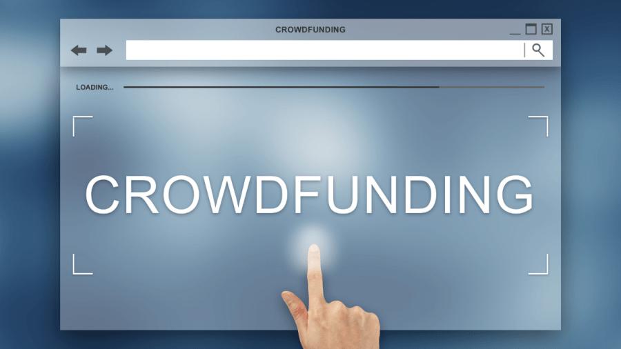 Crowdfunding web portal
