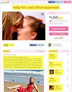 Karen Krakowski - Help for Lexi's final expenses