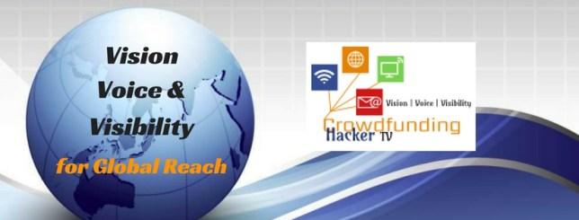 Crowdfunding Hacker Global Reach