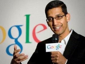 Sundar Pichai, nouveau patron de Google!