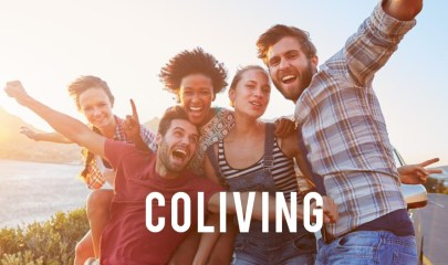 Coliving, colocation et coworking