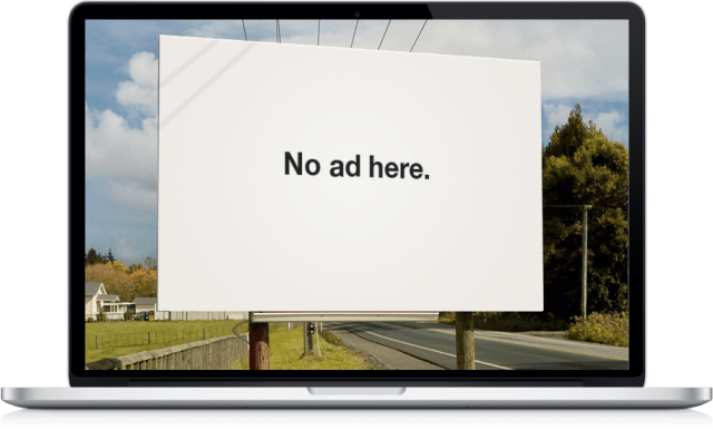 No Ad Billboard
