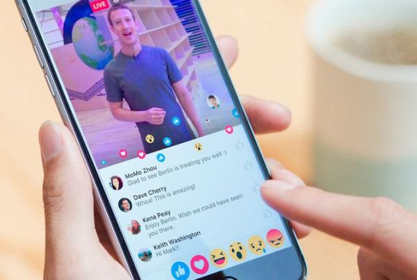 Tendencias en Facebook Live