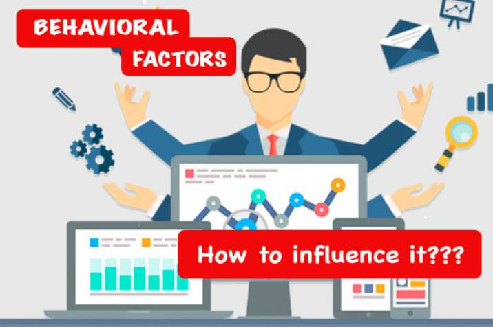 How to influence behavioral factors? | Crowdseolinks.com