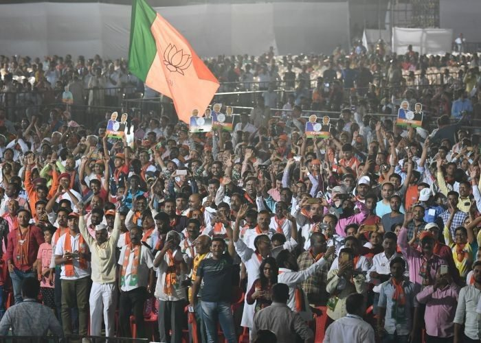 How many seats will BJP win in 2019?