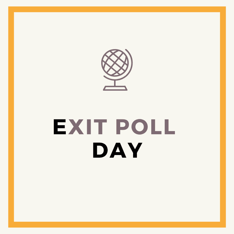 Which Exit Poll to trust today?