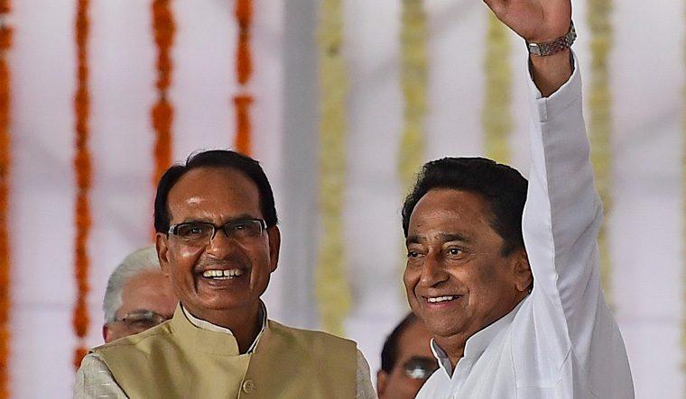 How many Seats for Congress in Madhya Pradesh?