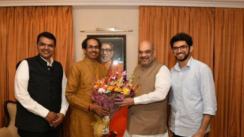 Maharashtra Assembly Election 2019 : BJP-Sena to part ways again?