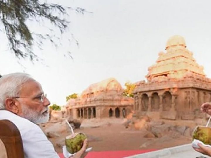 What happened at Mamallapuram during 2nd Informal Xi-Modi summit?