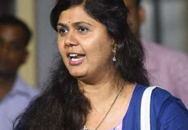 Pankaja Munde to leave BJP?:Twitter Rumour