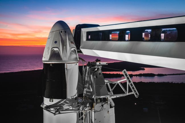 Video: Elon Musk is launching Astronauts into Space on Wednesday