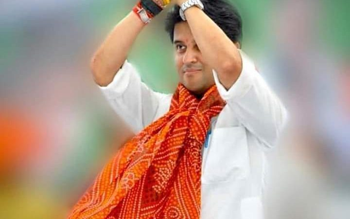 Is Jyotiraditya Scindia returning to the Congress party?