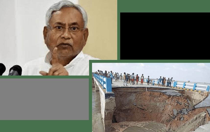 Nitish Kumar Development Model: A tale of Collapsed Bridges