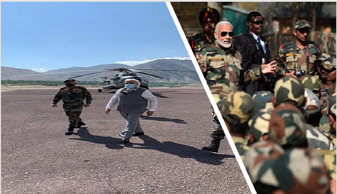 PM Modi in Leh : What does this mean?