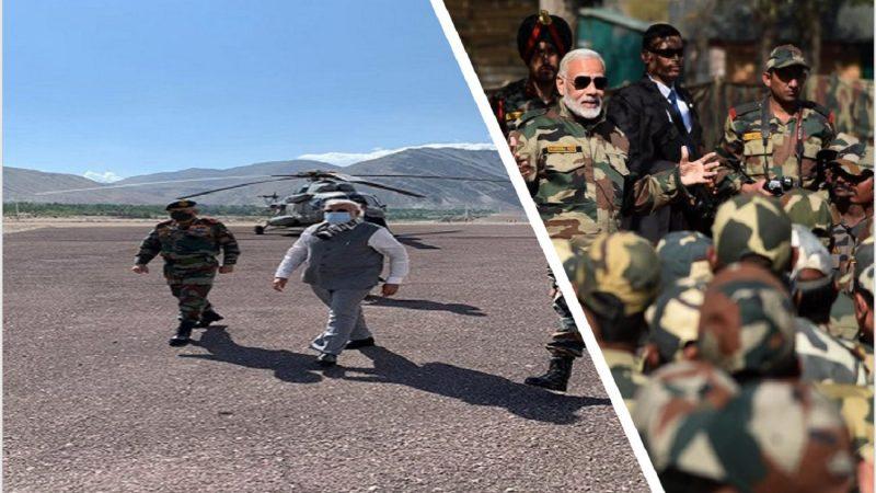 PM Modi in Leh