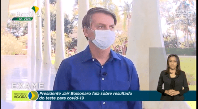 Bolsonaro Covid 19