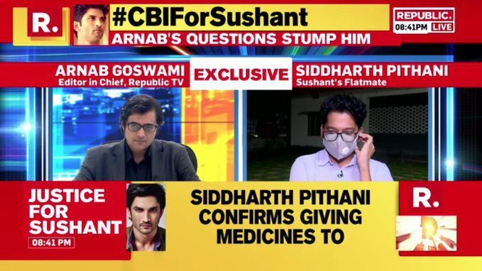 Sushant Coverage takes Republic News almost to the Top