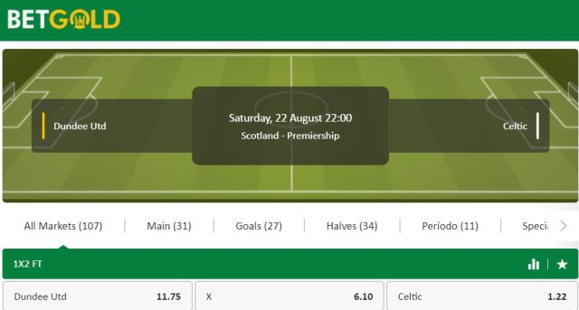 Dundee united vs celtic betting previews betting predictions nhl