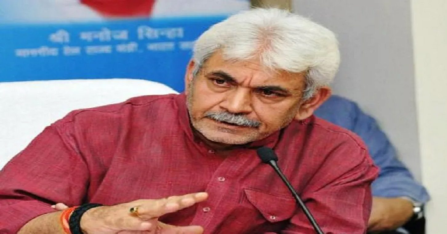 Who is Manoj Sinha The New Man in Charge of Jammu & Kashmir?