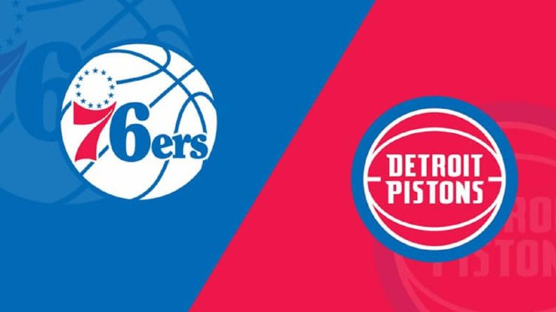 Philadelphia 76ers vs Detroit Pistons NBA Odds and Predictions