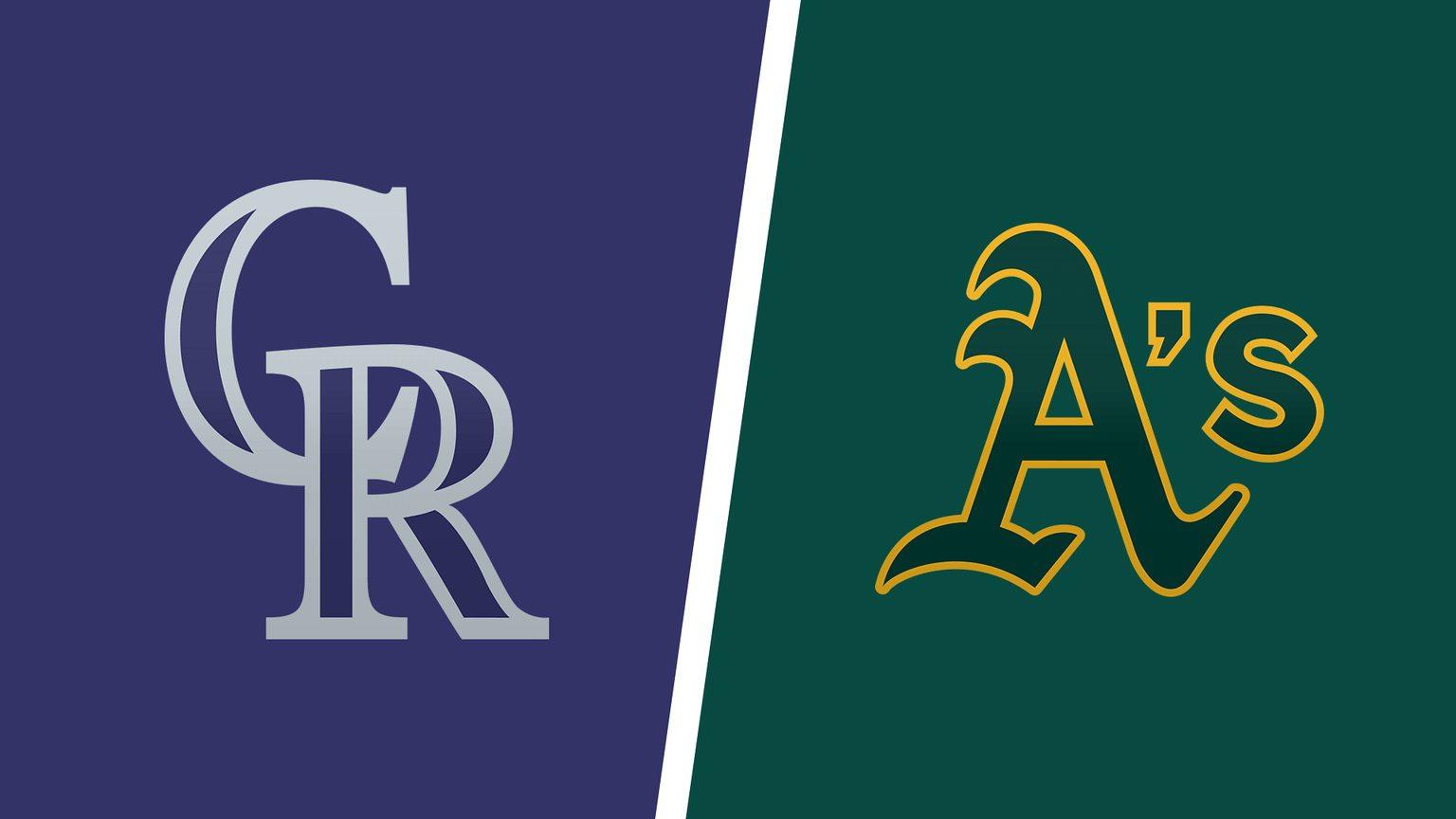 Oakland Athletics vs Colorado Rockies MLB Odds and Predictions