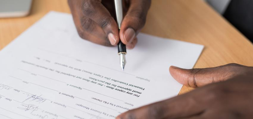 Medicare Employment Verification form