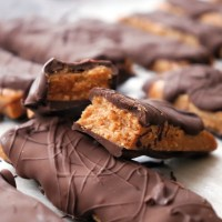 No-Butter Butterfinger Bars