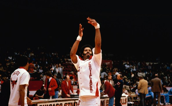 Artis Gilmore of Chicago Bulls