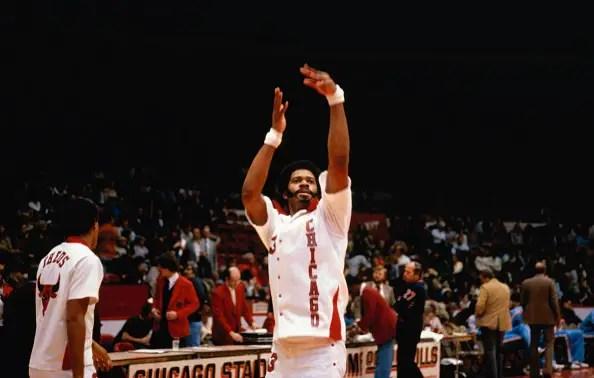 Artis Gilmore of Chicago Bulls