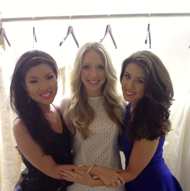 We always support our own. L-R, Christine Tang, author Karley Kiker, and blog author Michelle Hanson