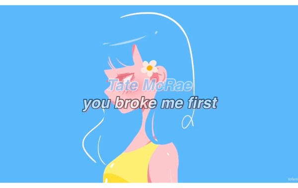 Tate McRae - you broke me first lyrics