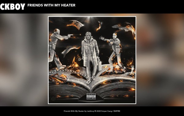 Jackboy - Friends With My Heater lyrics