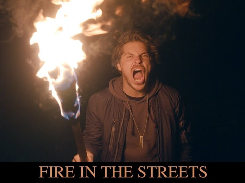 Our Last Night - Fire in the Streets lyrics