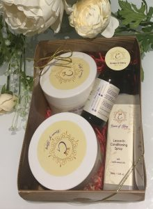 Crown of Glory Gift Box natural hair care products