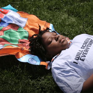 Black Boy Superhero Cape | Satin Costume Cape