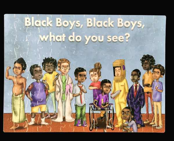 black boy Jigsaw puzzle