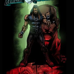 The Indomitable Black Assassin Comic Book
