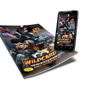 Burning Spear Comix Wild Card Chronicles Rude Awakening Issue #1