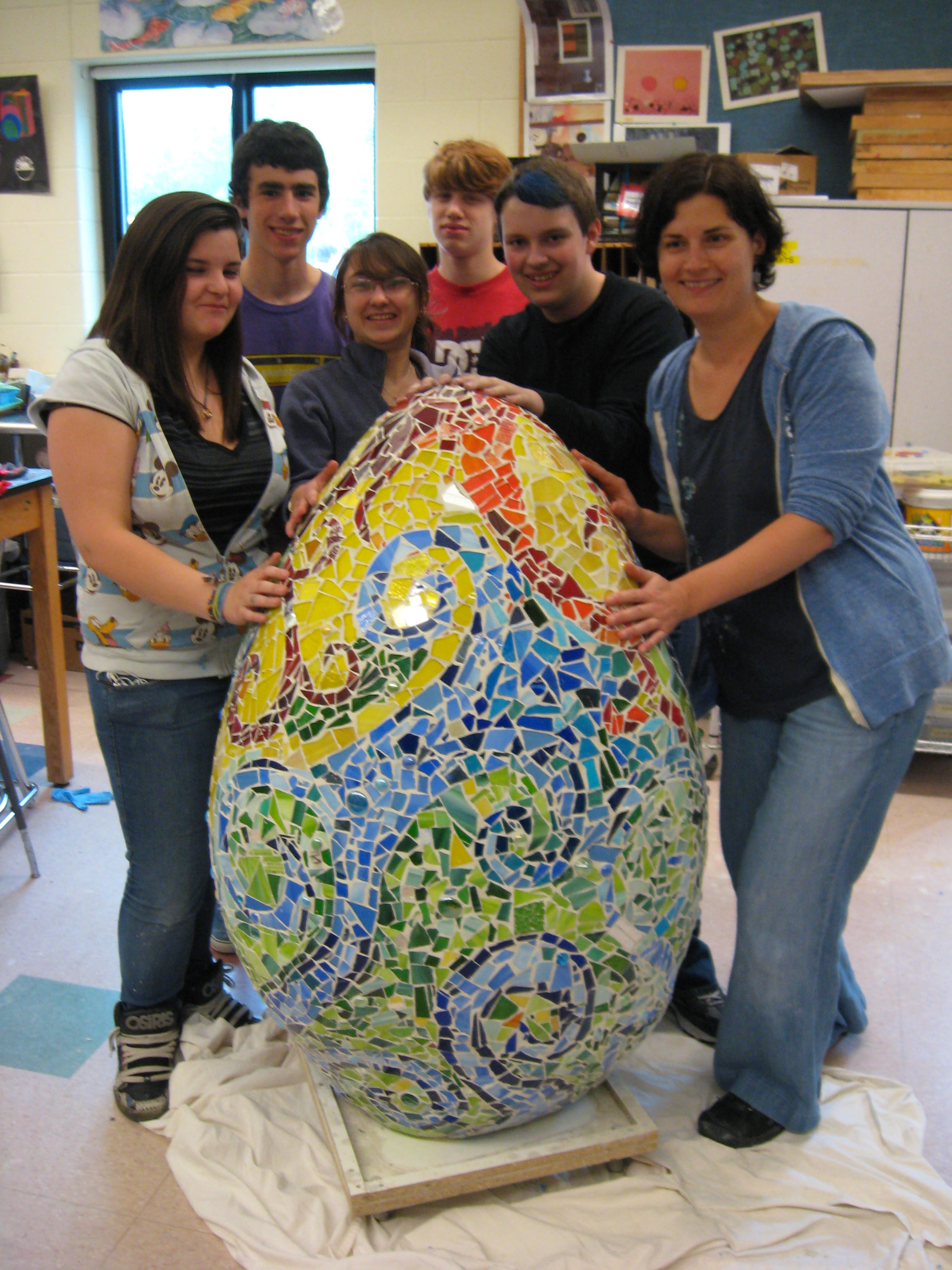 Artist Residencies And Community Mosaic Projects Welcome