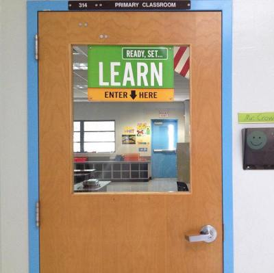 Coral Springs Elementary Classroom