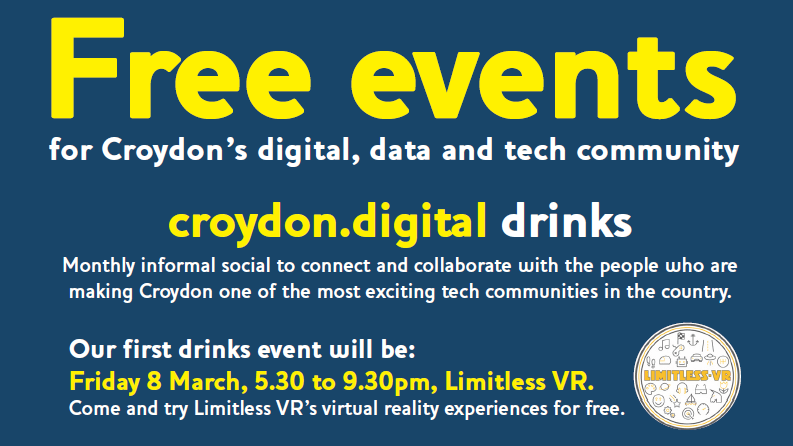 Introducing Ash Balakrishnan and croydon.digital drinks