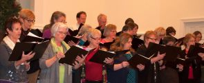 Crozet Community Chorus at rehearsal