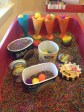 ice cream themed sensory bin