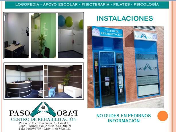 Instalaciones del centro de rehabilitación