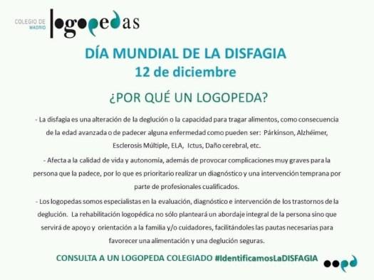 Día Internacional de la disfagia
