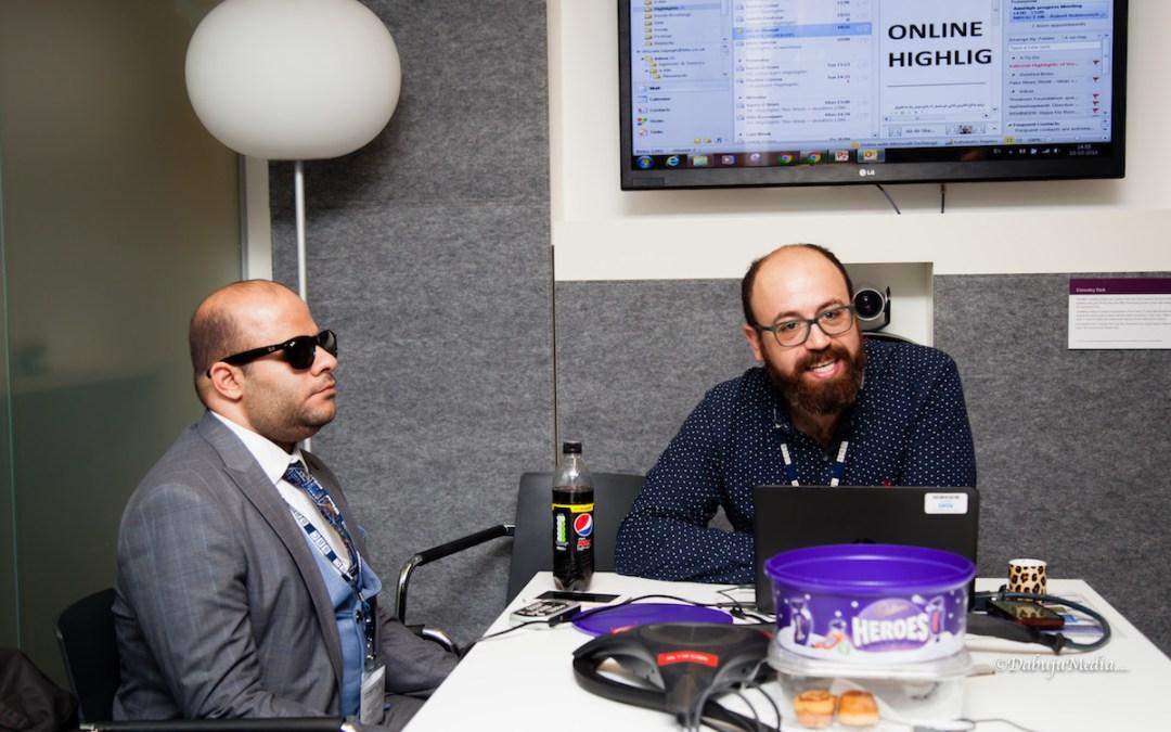 حلق عالياً: صحافيون من ذوي الاحتياجات الخاصة يكملون دورة تدريببية في بي بي سي ضمن برنامج تطوير هو الأول من نوعه في العالم العربي